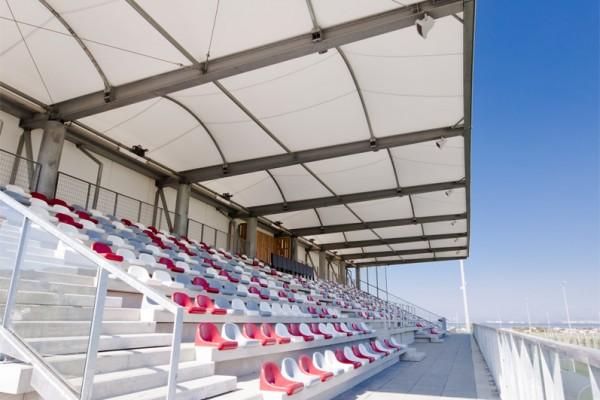 construction de tribunes de stade