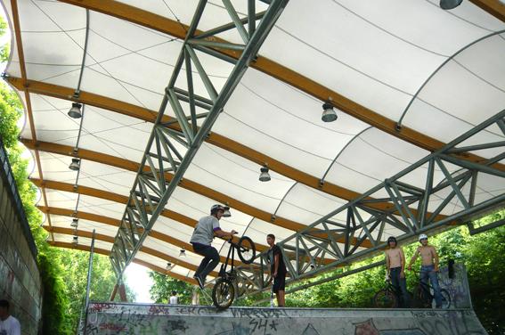 skatepark couvert
