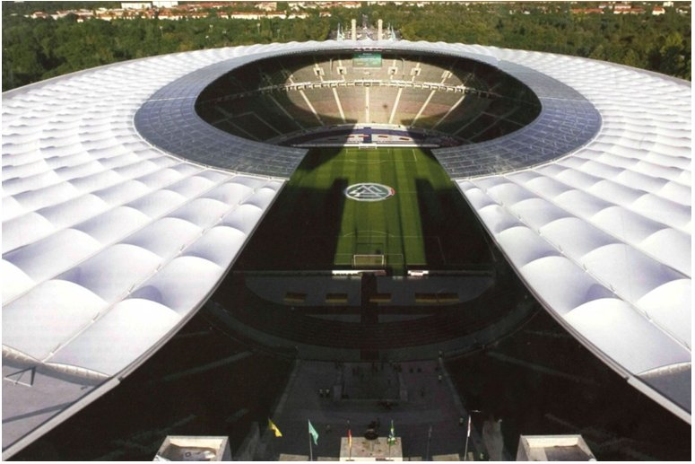 Berlin Olympic Stadium This stadium was not built by SMC2, it is merely cited as an example