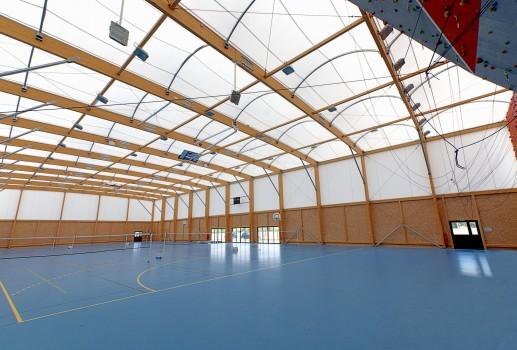 Sports hall construction