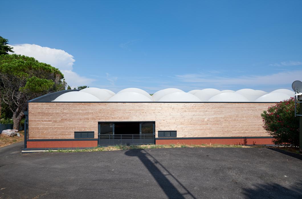 WOODEN CONSTRUCTION TENNIS ARCHITECTURE TEXTILE TENSILE FABRIC STRUCTURE
